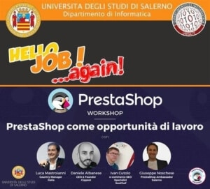 prestashop come opportunita di lavoro universita salerno